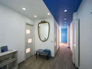 archielle Modern corridor, hallway & stairs