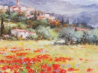 Nos affiches d'art provençales par PROVENCE DISTRIBUTION - BARTHEZ GENEVIEVE Méditerranéen