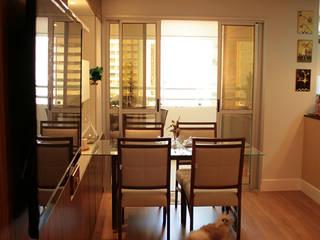 StudioM4 Arquitetura Sala da pranzoTavoli