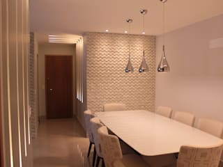 StudioM4 Arquitetura Dining roomLighting
