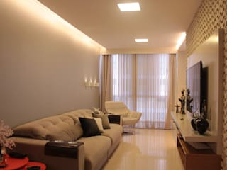 StudioM4 Arquitetura Living roomLighting