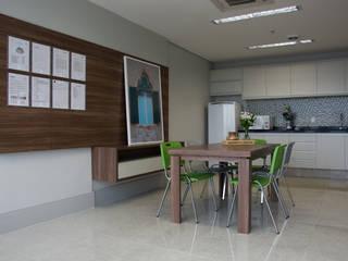 Projeto Corporativo - Platinun Tower Tania Bertolucci de Souza | Arquitetos Associados Escritórios modernos