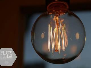 """Iluminacion """"The Burger Company"""":  de estilo industrial por Flo´s Market,Industrial"""