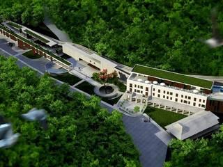 CONCURSO HOTEL PAINEIRAS:   por RECIFEBERLIN  Arquitetura e Paisagismo,