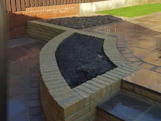 Suburban rear garden by Mike Bradley Garden Design
