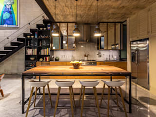 Eclectic style kitchen by Taller Estilo Arquitectura Eclectic