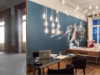Antes e Depois da Intervenção da TERRACAL numa das salas da exposição de Design de Interiores, CASAPORTO'15.:   por Terracal