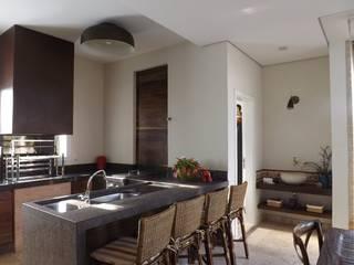 Espaços Gourmet Dapur Modern Oleh ARCHITECTARI ARQUITETOS Modern