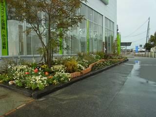 庭園空間ラボ teienkuukan Labo Jardines de estilo asiático
