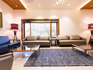 Jayesh bhai interiors Vipul Patel Architects Modern living room