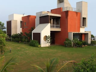 Dual house images Vipul Patel Architects Modern houses