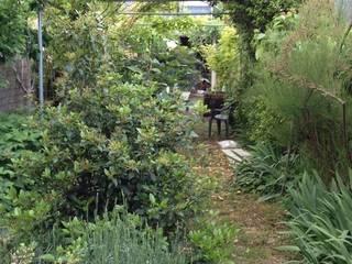 Jardín en la Garrotxa Jardines de estilo moderno de De buena planta Moderno