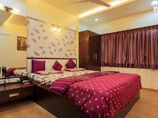 Interior Projects:  Bedroom by Dessign7 Interiors Pvt Ltd