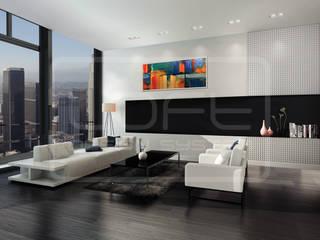3D Decorative Panel - Loft System Design - model Chaos Loft Design System Walls & flooringWall tattoos