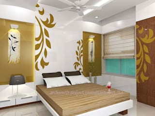 Archsmith project consultant Modern style bedroom