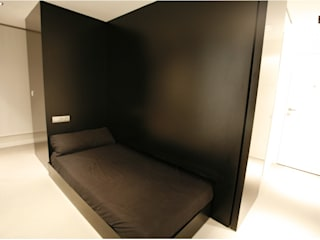 Un loft en la Albufera : Dormitorios de estilo  de Isidoro Moreno e Hijos s.l.