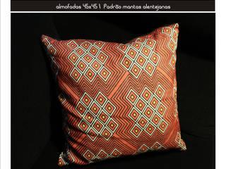 Trama_home almofadas:   por tramadesign,Mediterrânico