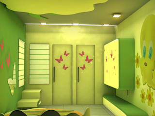 Kids room Designs Modern nursery/kids room by ESHA GARG : Interior Designer Modern
