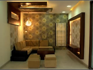 Interior Designs Modern living room by ESHA GARG : Interior Designer Modern