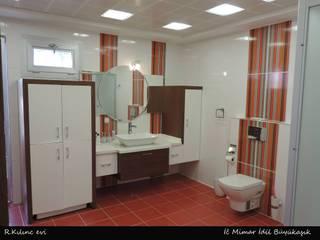 idiliçmimarlık – R. Kılınç Evi:  tarz Banyo