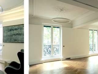 Réhabilitation d'un immeuble Haussmannien par MAY architecture