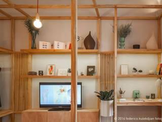 DIM Arquitectura Livings de estilo moderno