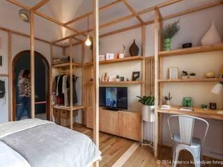 Quartos modernos por DIM Arquitectura Moderno
