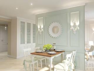 Cocinas de estilo clásico de Студия авторского дизайна ASHE Home Clásico