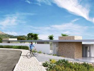 Casas estilo moderno: ideas, arquitectura e imágenes de In&Ext Arquitectura e Ingeniería Moderno
