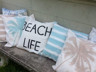 Life is better at the beach de Indigo fabrics Mediterráneo