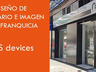 Oficinas y bibliotecas de estilo ecléctico de In&Ext Arquitectura e Ingeniería Ecléctico