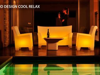 mobiliario + iluminación:  de estilo  por Nodobjetos