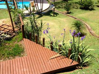 Jardines de estilo rural de Elisabeth Berlato Arquitetura, Interiores e Paisagismo Rural