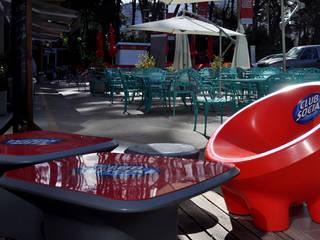 Ambientación de espacios comerciales: Gastronomía de estilo  por Nodobjetos