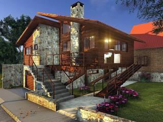 Casas modernas de Áurea Arquitetura e Design Moderno