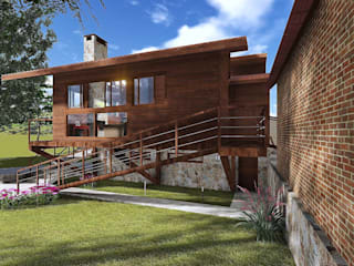 Modern houses by Áurea Arquitetura e Design Modern