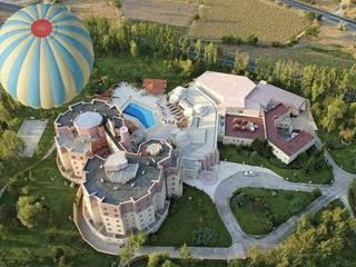 NGY Mimarlık – kapadokya lodge otel - kongre merkezi - anahtar teslimi ince yapı uygulaması:  tarz Oteller,