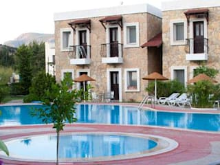 Hoteles de estilo rústico de GETSA Mimarlık Rústico