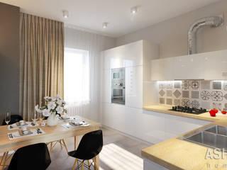 Cocinas de estilo ecléctico de Студия авторского дизайна ASHE Home Ecléctico