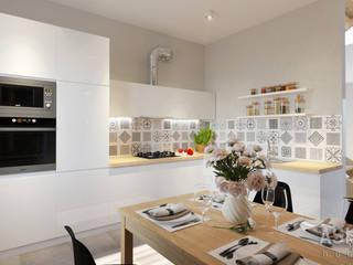 Интерьер таунхауса под Уфой: Кухни в . Автор – Студия авторского дизайна ASHE Home