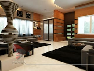 3D Power Visualization Pvt. Ltd. Soggiorno moderno