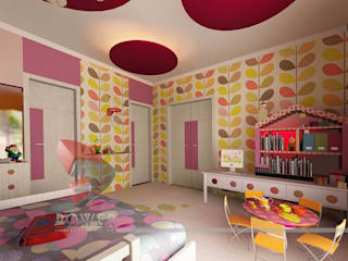 3D Power Visualization Pvt. Ltd. Stanza dei bambini moderna