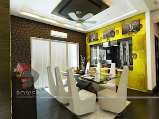 Comedores de estilo moderno de 3D Power Visualization Pvt. Ltd. Moderno