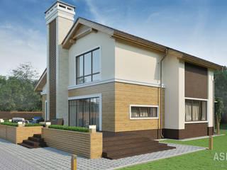 Casas de estilo escandinavo de Студия авторского дизайна ASHE Home Escandinavo