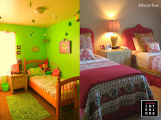 Kids Room Designs:  Nursery/kid's room by Chartered Interiors ,
