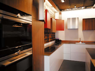 London Showroom: modern Kitchen by Nine Design