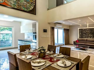 Model Apartment Modern dining room by Construction Associates Modern