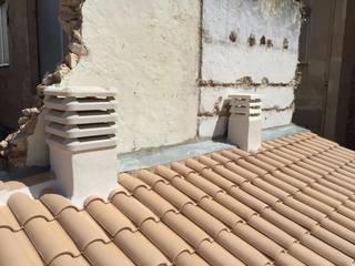Vivienda Unifamiliar adosada: Casas de estilo  de NACHO NAVARRO   ARQUITECTURA