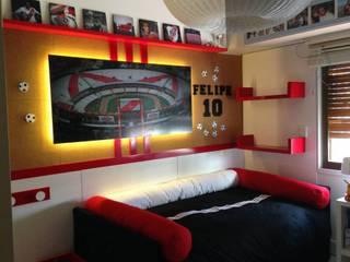 Diseño de la Habitación de Felipe:  de estilo  por Mikiu Design
