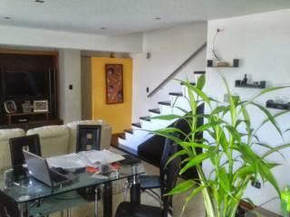 Salas de estilo  por Arquitectura 4rq, Moderno